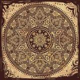 Indisch etnisch ornament Royalty-vrije Stock Afbeelding