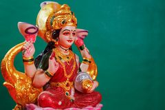 Indisch Festival Diwali, Laxmi Pooja stock foto