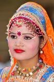 Indisch festivalmeisje Royalty-vrije Stock Foto's