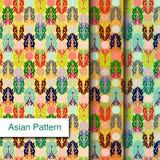 Indisch Gedetailleerd en gemakkelijk editable Patroon - Royalty-vrije Stock Foto