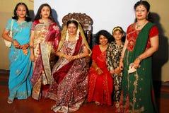 Indisch Huwelijk Royalty-vrije Stock Foto's