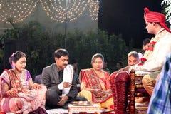 Indisch huwelijk Stock Foto's