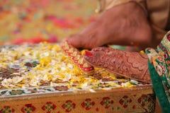 Indisch Huwelijk stock afbeeldingen
