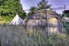 Indisch Kamp 4 Royalty-vrije Stock Foto