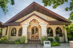 Indisch keukenrestaurant bij de luxe tropische toevlucht bij het eiland royalty-vrije stock fotografie