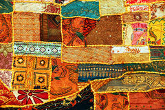 Indisch lapwerktapijt Royalty-vrije Stock Foto