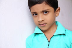 Indisch Little Boy Royalty-vrije Stock Afbeelding