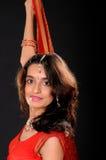 Indisch Meisje Stock Afbeelding