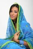 Indisch meisje Royalty-vrije Stock Foto's