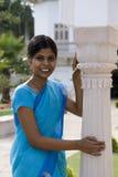 Indisch meisje in Gwalior - India Royalty-vrije Stock Afbeeldingen
