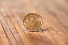 Indisch muntstuk Stock Afbeelding
