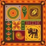 Indisch patroon Stock Afbeelding