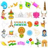 Indisch Pictogram royalty-vrije illustratie