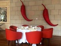 Indisch Restaurant stock foto's