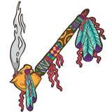 Indisch symbool van Vrede Royalty-vrije Stock Afbeeldingen