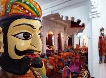 Indisch Traditioneel Volksart puppets Stock Foto