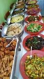 Indisch vegetarisch voedsel Stock Foto