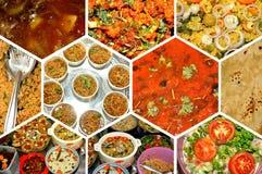 Indisch verscheidenhedenvoedsel stock foto's