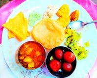 Indisch voedsel royalty-vrije stock foto's