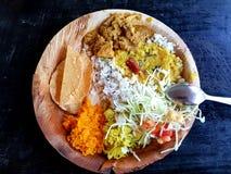 Indisch voedsel stock foto