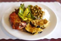 Indisch voedsel stock afbeeldingen