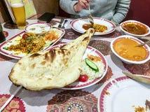 Indisch voedseldiner Stock Foto