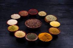 Indisch zaad royalty-vrije stock foto's