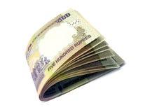 Indische 500 van bankbiljet-INR Royalty-vrije Stock Foto