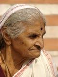 Indische alte Frauen Stockfoto