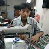 Indische arbeider Royalty-vrije Stock Foto