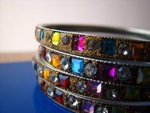 Indische Armbänder Lizenzfreies Stockbild