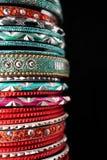 Indische Armbanden Royalty-vrije Stock Foto's