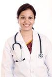 Indische artsenvrouw Royalty-vrije Stock Foto