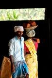 Indische Aufbauarbeiter Lizenzfreie Stockfotografie