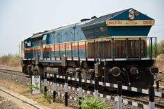 Indische Bahnmaschine Stockfotografie