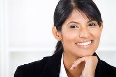 Indische bedrijfsvrouw royalty-vrije stock afbeeldingen