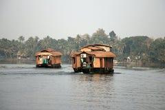 Indische Binnenwatercruise Royalty-vrije Stock Foto