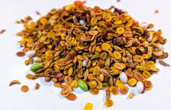Indische Bonbonmunderfrischungsmittel stockbilder