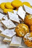Indische Bonbons - Mithai Lizenzfreies Stockbild