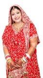 Indische Braut lizenzfreies stockbild