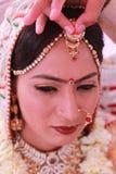 Indische Braut stockfotos