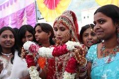 Indische bruid Royalty-vrije Stock Foto