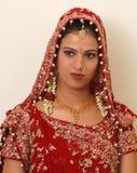 Indische bruid Stock Afbeelding