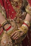 Indische Bruid royalty-vrije stock foto's