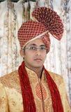 Indische Bruidegom Stock Fotografie