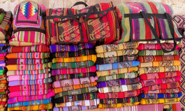 Indische bunte traditionelle Abdeckungen der Andenkens Lizenzfreies Stockbild