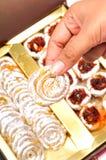 Indische cachounootsnoepjes Stock Afbeelding