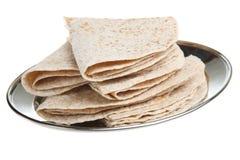 Indische Chapati-Brote Stockbild