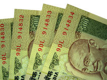 Indische Currency_04 Stock Foto