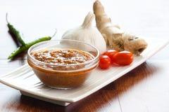 Indische Currysoße Lizenzfreies Stockfoto